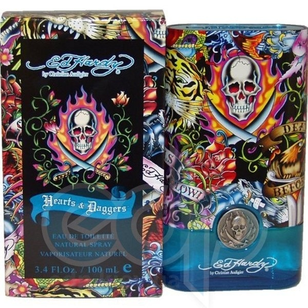 Christian Audigier Ed Hardy Hearts and Daggers for Him - туалетная вода - 50 ml