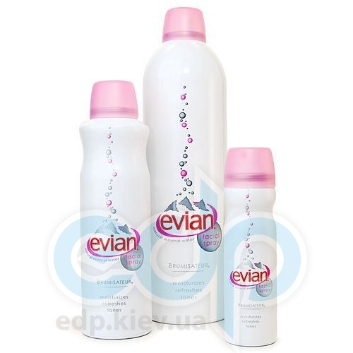 Evian Brumisateur Natural mineral water facial spray -  Освежающий спрей для лица -  150 ml
