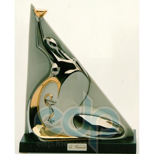 Galos (статуэтки) Статуэтки Galos (Испания) - Фармация - 32 x 26 см. (фарфор, покрытие платиной, золотом)