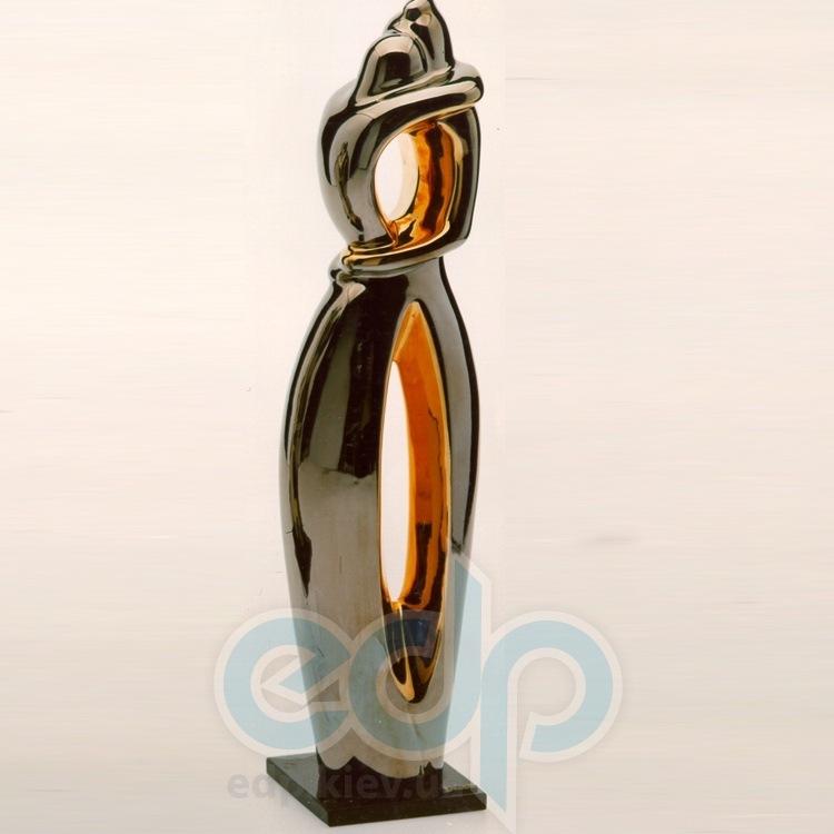 Galos (статуэтки) Статуэтки Galos (Испания) - Эмбрасе - 43 x 11 см. (фарфор, покрытие платиной, золотом)