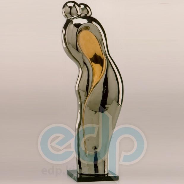 Galos (статуэтки) Статуэтки Galos (Испания) - Эмбрасе - 40 x 15 см. (фарфор, покрытие платиной, золотом)