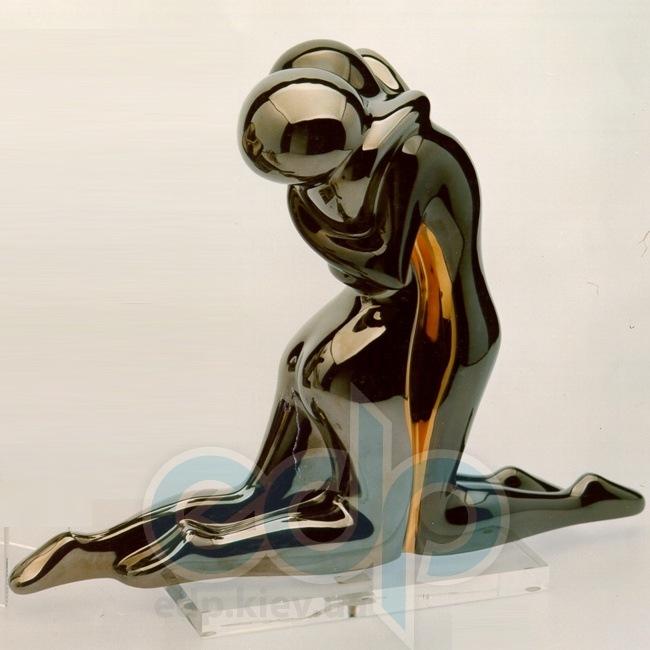 Galos (статуэтки) Статуэтки Galos (Испания) - Эмбрасе - 32 x 40 см. (фарфор, покрытие платиной, золотом)