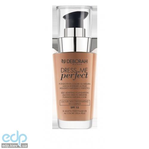 Deborah - Тональная основа Dress Me Perfect  SPF15 №04 Apricot - 30 ml