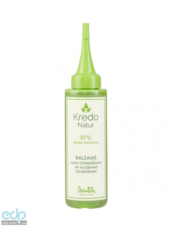 Dzintars (Дзинтарс) - Бальзам для укрепления и стимулирования роста волос Kredo Natur - 100 ml (20076dz)