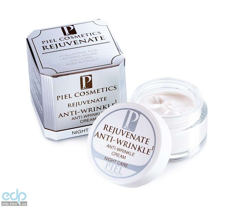 Piel Cosmetics - Rejuvenate Anti-Wrinkle 1 Cream - Ночной крем против морщин - 50 ml