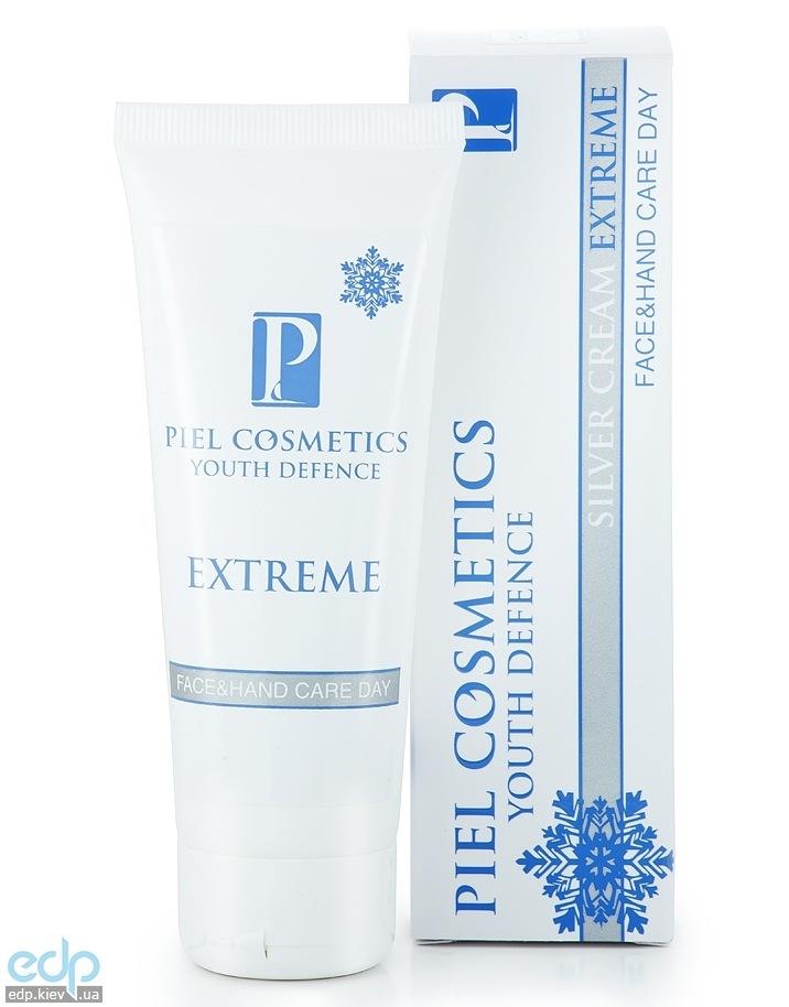 Piel Cosmetics Piel Silver Cream Extreme Universal Face and Hand Care Day - Ежедневный зимний дневной уход за лицом и руками для всех типов кожи - 75 ml