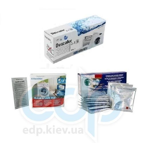 Порошок Indesit-Descaler-Electrolux - для удаления накипи и жира для стиральных и посудомоечных машин - 50 гр. (10 упаковок)
