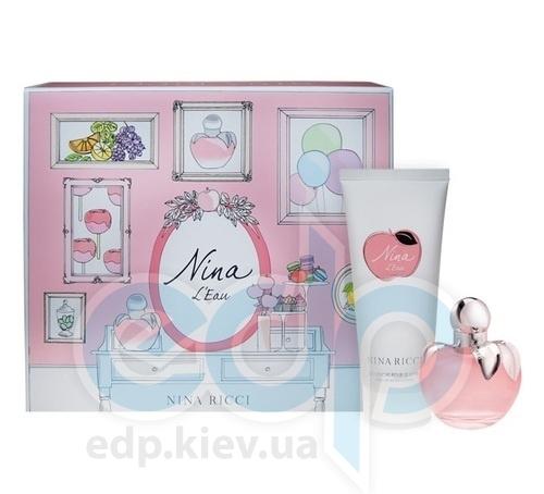 Nina Ricci Nina Leau - Набор (туалетная вода 50 + лосьон-молочко для тела 100)