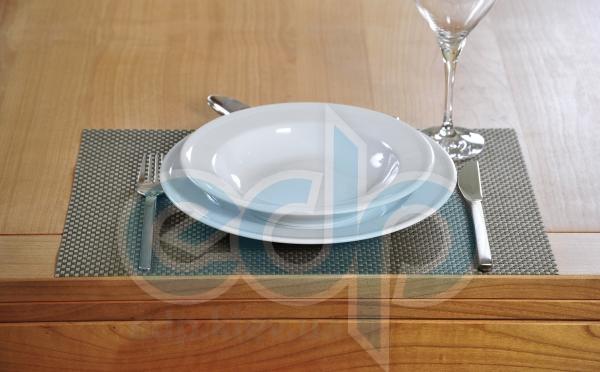 Kesper - Коврик для сервировки Винил серебряный 43см (арт. 77544)