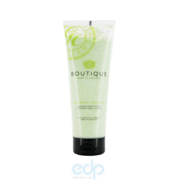Grace Cole - Скраб для тела очищающий Boutique Body Scrub Grapefruit Lime & Mint - 240 ml