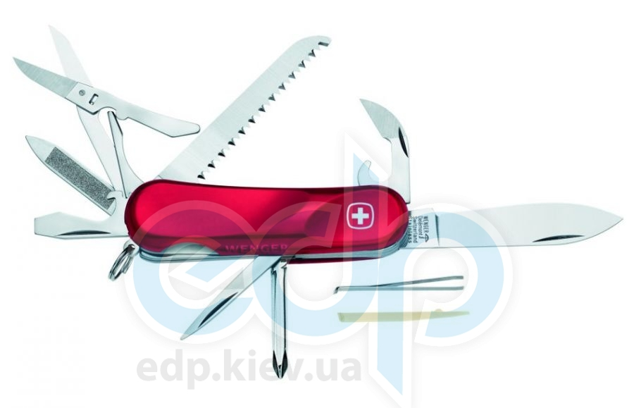 Wenger - Армейский нож Evolution полупрозрачный красный (арт. 1.18.09.300)