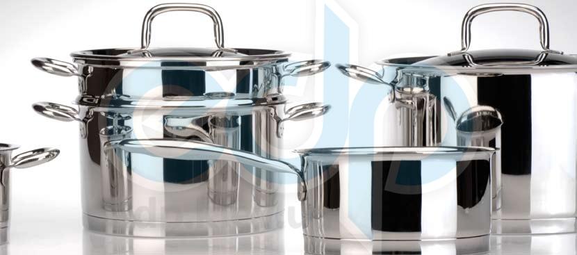 Berghoff Cook&Co (посуда) COOK and Co (от Berghoff) -  Набор посуды -  12 предметов с металлическими крышками Venus (арт. 2801093)