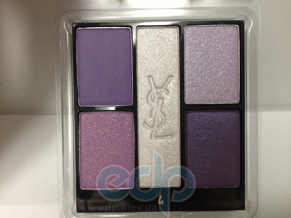 Тени для век Yves Saint Laurent - Ombres 5 Lumieres №04 Lilac Sky/Сиреневое Небо TESTER