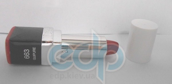 Помада для губ увлажняющая, придающая натуральный оттенок с эффектом бальзама Christian Dior - Rouge Dior Nude №663 Guipure - 3.5g TESTER
