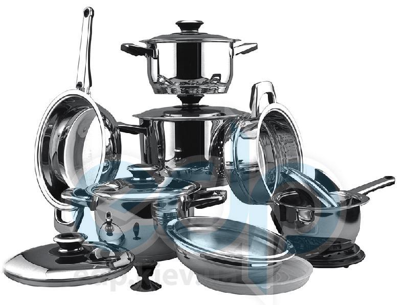 Vinzer (посуда) Vinzer -  Набор посуды GRAND SENIOR - 16 предметов, термодатчик, термоаккумулирующее дно (арт. 89023)