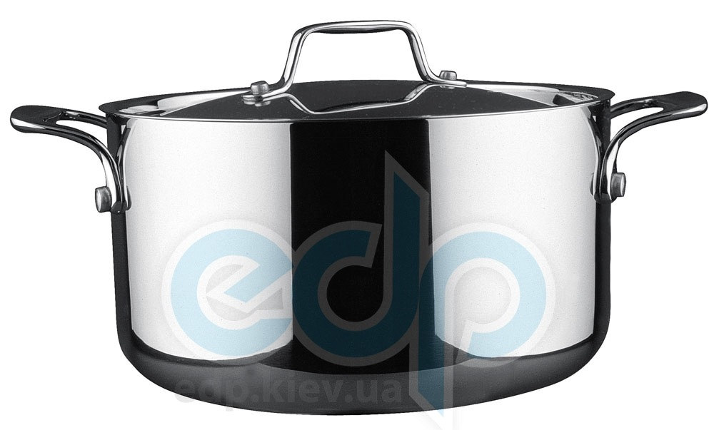 Vinzer (посуда) Vinzer -  Кастрюля - нержавеющая сталь, диаметр 24см, 6,5л (арт. 89074)