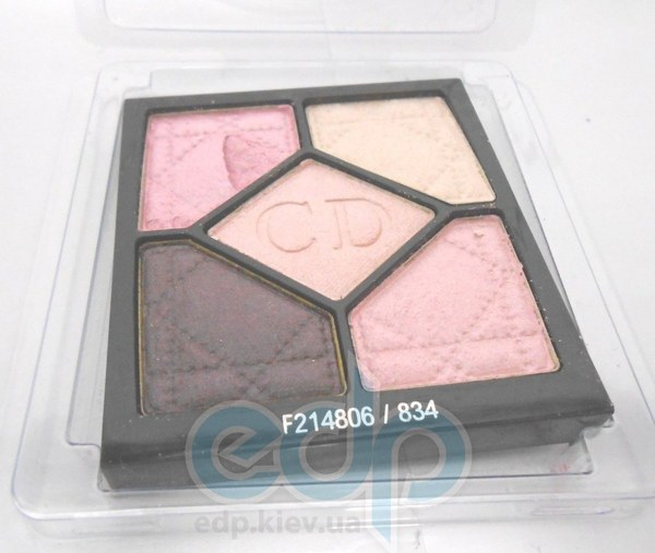 Тени для век Christian Dior - 5-Colour Eyeshadow Iridescent №834 TESTER