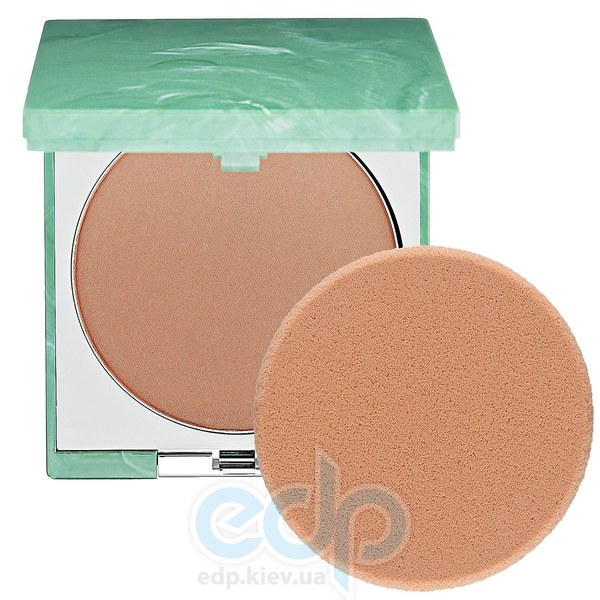 Пудра компактная Clinique - SuperPowder Double Face Powder двойного действия №04 Matte Honey TESTER