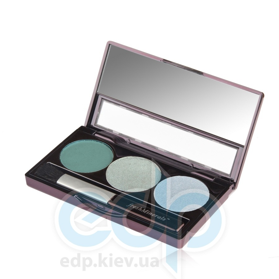 freshMinerals - Triple eyeshadow, Lovely Минеральные тени-трио - 4.25 gr (ref.905561)