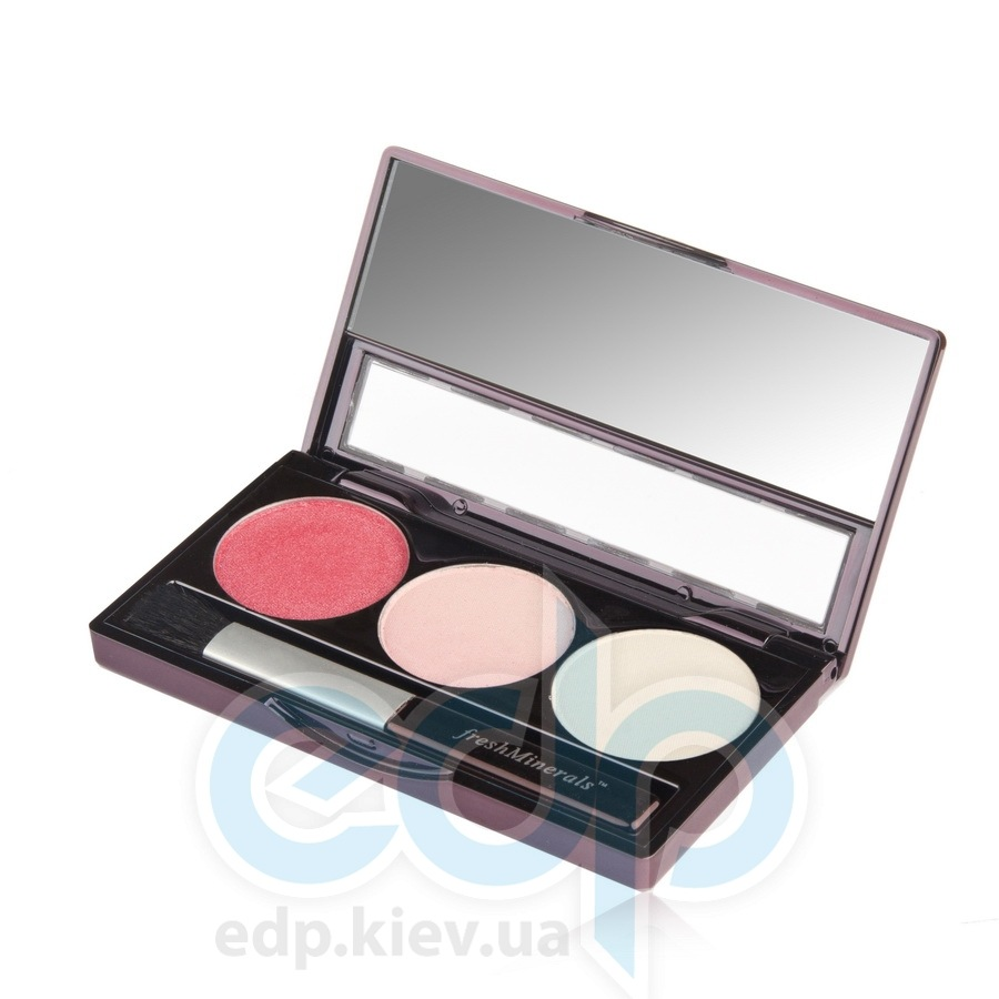 freshMinerals - Triple eyeshadow, Perfect Eyes Минеральные тени-трио - 4.25 gr (ref.905565)