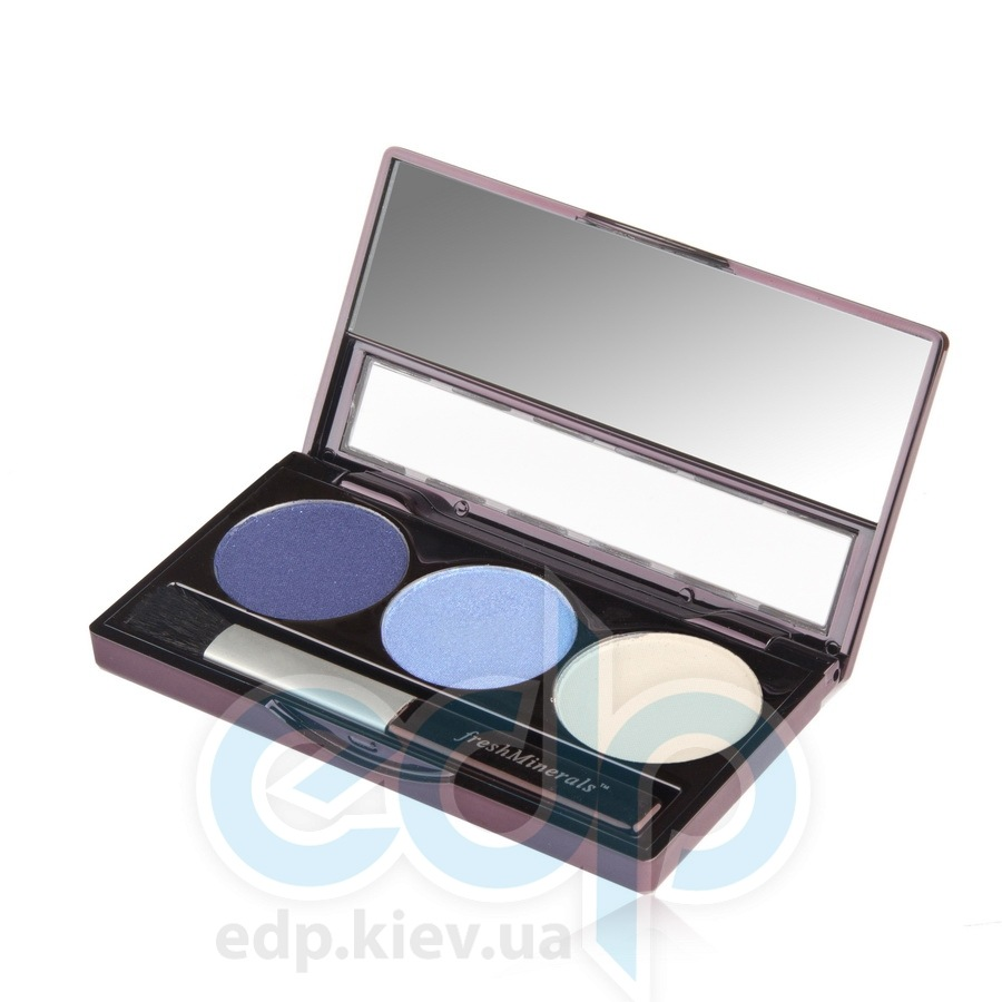 freshMinerals - Triple eyeshadow, Amazing Минеральные тени-трио - 4.25 gr (ref.905566)