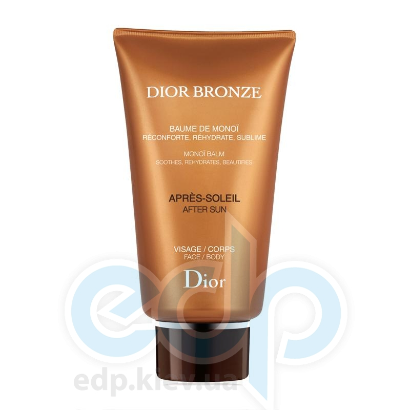 Christian Dior - Крем после загара для лица и тела Dior Bronze Baume de Monoi After Sun Face\Body - 150 ml TESTER