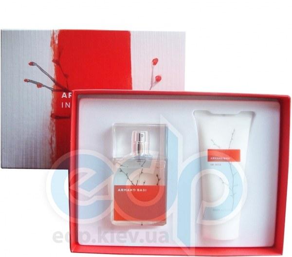 Armand Basi In Red -  Набор (туалетная вода 100 + гель для душа 100)