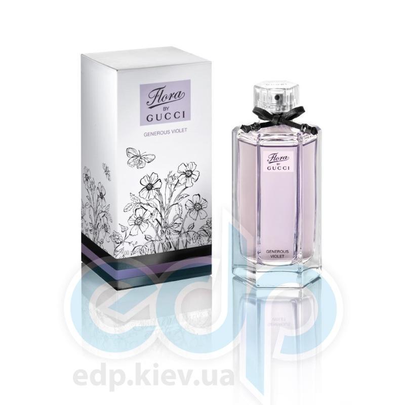 Flora  By Gucci Generous Violet - туалетная вода - mini 5 ml