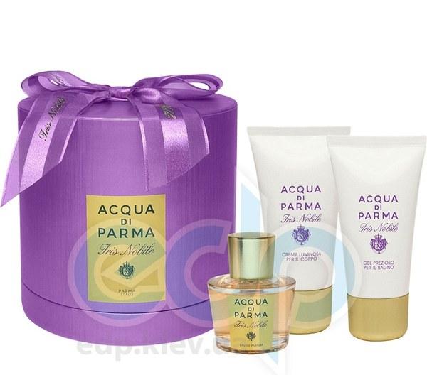 Acqua Di Parma Iris Nobile -  Набор (парфюмированная вода 50 + лосьон-молочко для тела 50 + гель для душа 50)