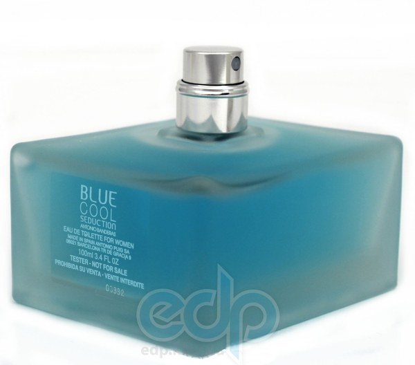 Antonio Banderas Blue Cool Seduction for Women - туалетная вода - 100 ml TESTER