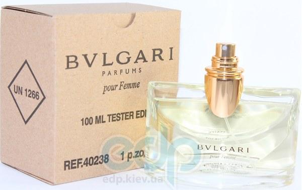 Bvlgari Pour Femme - парфюмированная вода - 100 ml TESTER