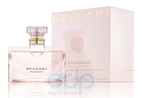 Bvlgari Rose Essentielle Eau De Toilette Rosee - туалетная вода - 100 ml TESTER