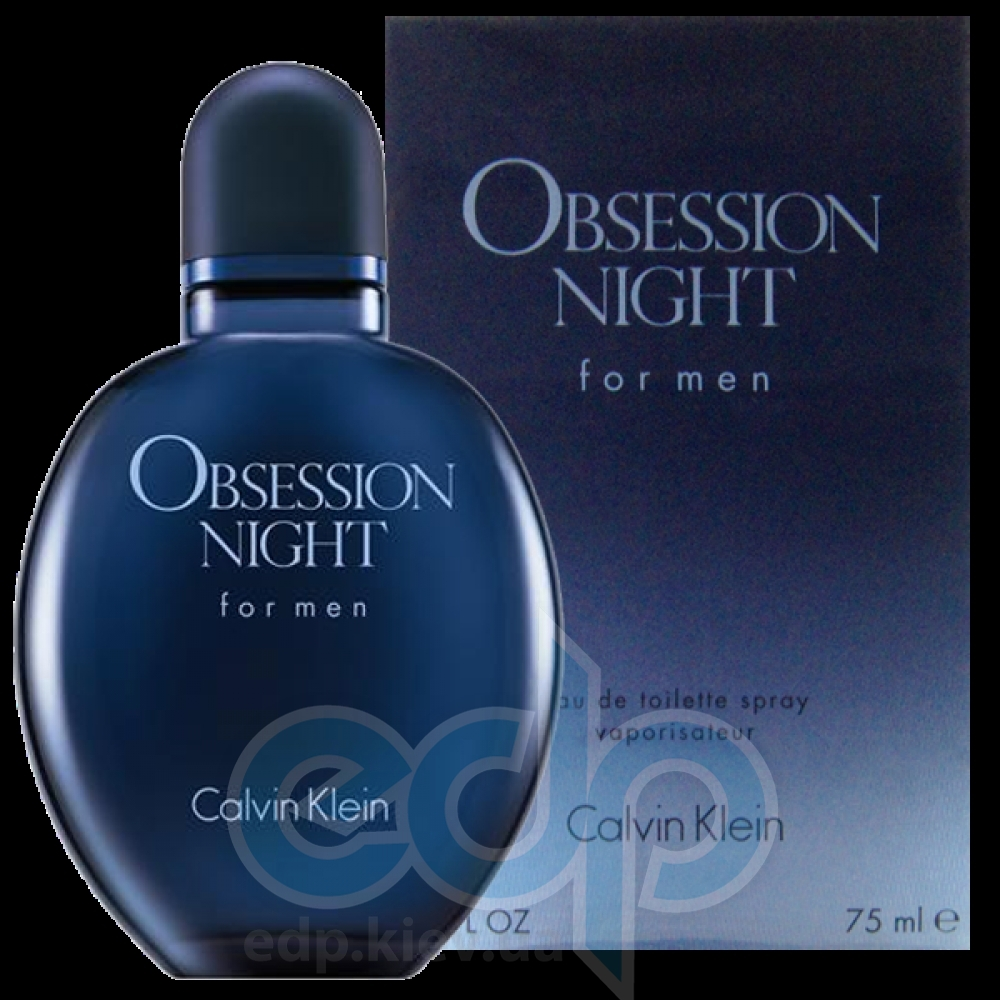 Calvin Klein Obsession Night For Men - туалетная вода - 75 ml