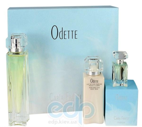 Carla Fracci Odette For Women -  Набор (парфюмированная вода 30 + mini 4.5 + лосьон-молочко для тела 50)