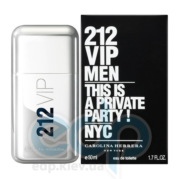 Carolina Herrera 212 VIP Men - туалетная вода - 50 ml
