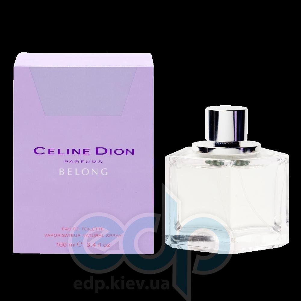 Celine Dion Belong - туалетная вода - 50 ml