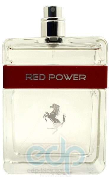 Ferrari Red Power - туалетная вода - 125 ml TESTER