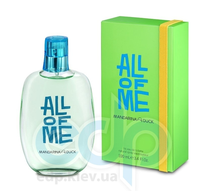 Mandarina Duck All of Me for Him - туалетная вода - 100 ml