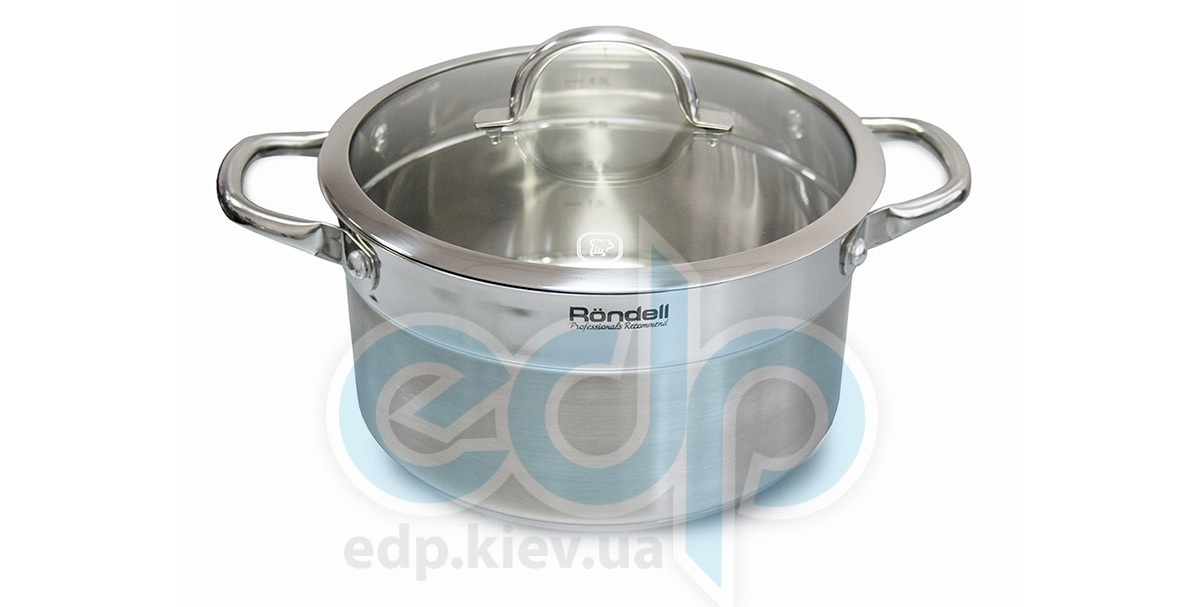 Rondell - Кастрюля Creative с крышкой - диаметр 18 см. объем 2.2 л (арт. RDS-386)