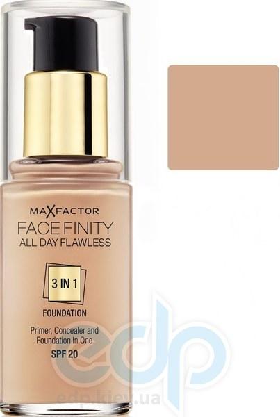 Тональный крем для лица матовый для всех типов кожи Max Factor - Facefinity All Day Flawless 3-in-1 Foundation №40 SPF 20 Нежно-розовый - 30 ml