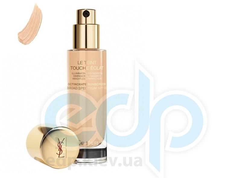 Крем тональный увлажняющий придающий коже естественное сияние Yves Saint Laurent - Le Teint Touche Eclat Foundation SPF19 - BD40 - 30ml