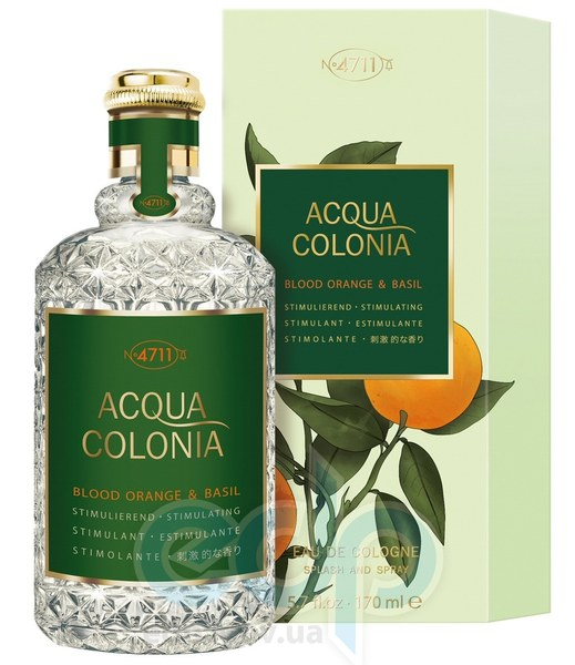 Maurer & Wirtz Acqua Colonia Blood Orange & Basil - одеколон - 50 ml
