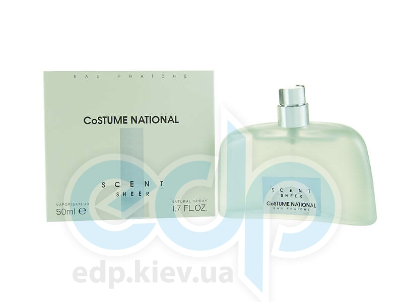 Costume National Scent Sheer Eau Fraiche - парфюмированная вода 50 ml
