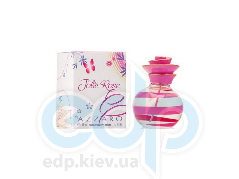 Azzaro Jolie Rose - туалетная вода - 50 ml TESTER