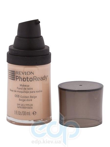 Тональный крем светоотражающий Revlon - Photo Ready №008 Золотистый беж - 30 ml