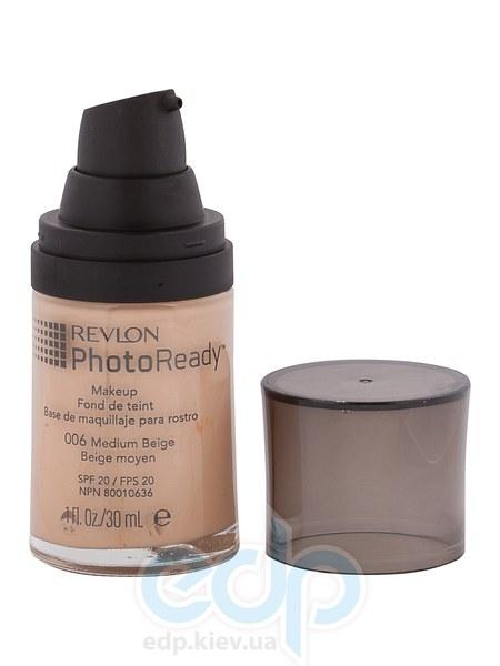 Тональный крем светоотражающий Revlon - Photo Ready №006 Средний беж - 30 ml