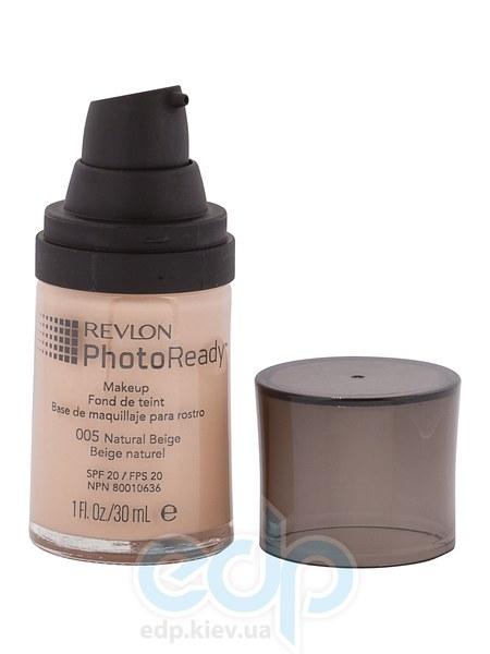 Тональный крем светоотражающий Revlon - Photo Ready №005 Естественный беж - 30 ml