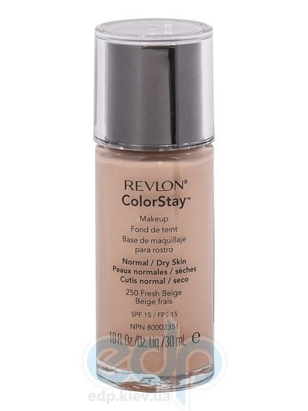Тональный крем стойкий для нормальной/сухой кожи Revlon - Colorstay Makeup with Softflex №250 Свежий беж