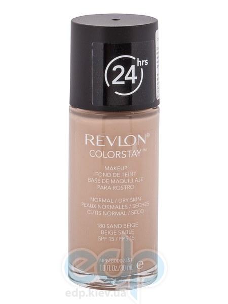 Тональный крем стойкий для нормальной/сухой кожи Revlon - Colorstay Makeup with Softflex №180 Песочний беж