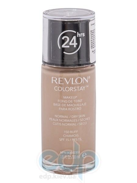 Тональный крем стойкий для нормальной/сухой кожи Revlon - Colorstay Makeup with Softflex №150 Желтоватый беж